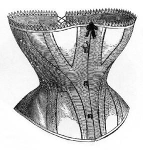 Corset - Modelo de 1860