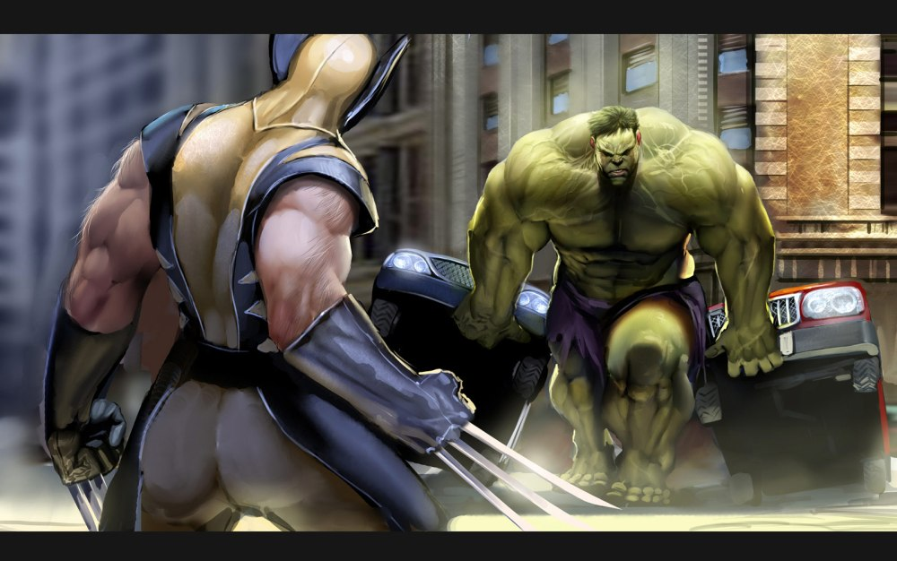 wolverine_vs_hulk_by_nebezial